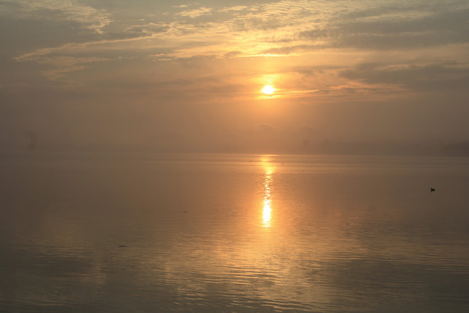 Sunrise Over The Bay of Quinte Belleville, Ontario Canada
