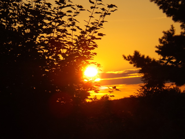 sunset friday New Minas, Nova Scotia Canada