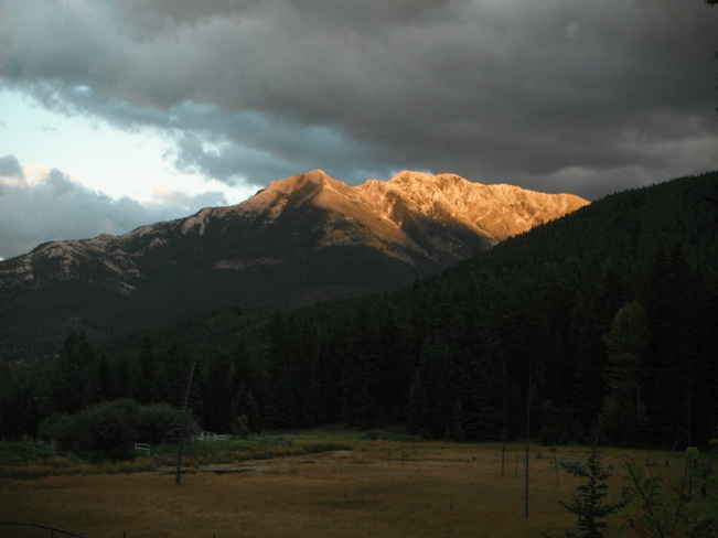 After the storm Crowsnest Pass, Alberta Canada