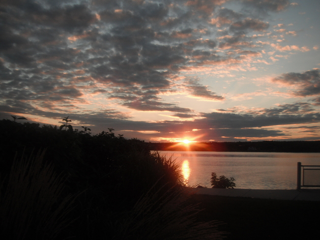 Aug 31 sunset Miramichi, New Brunswick Canada