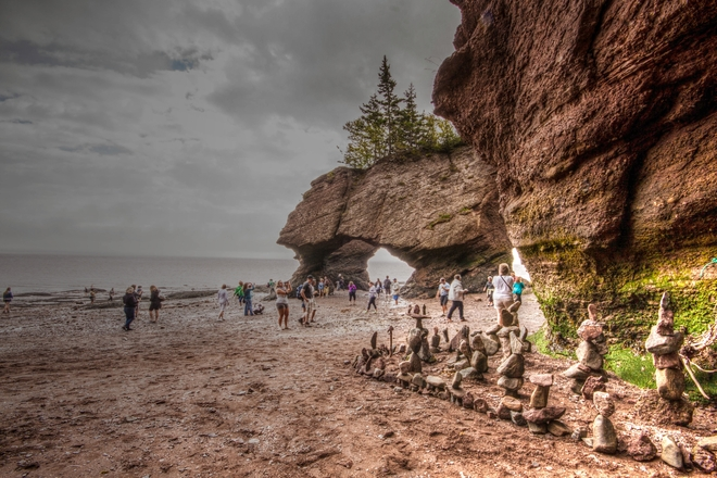 Hopewell Rocks Hopewell, New Brunswick Canada