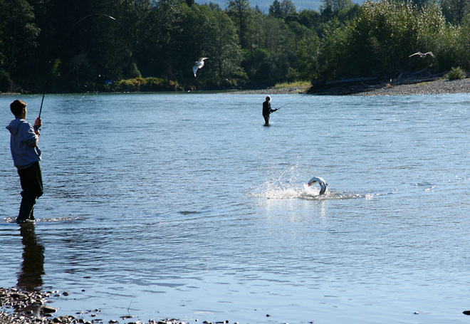 Fishing Splash Kitimat, British Columbia Canada