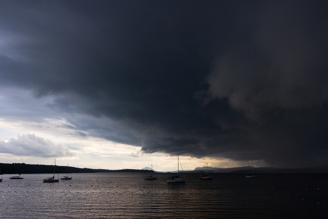 The Coming Storm Magog, Quebec Canada