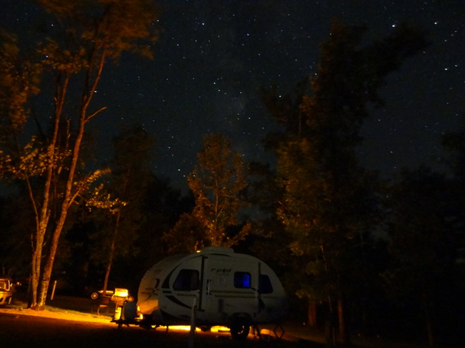 Camping under the stars! La Salle, Manitoba Canada