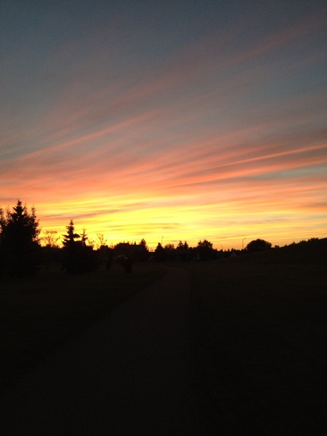 Sunset Lloydminster, Saskatchewan Canada