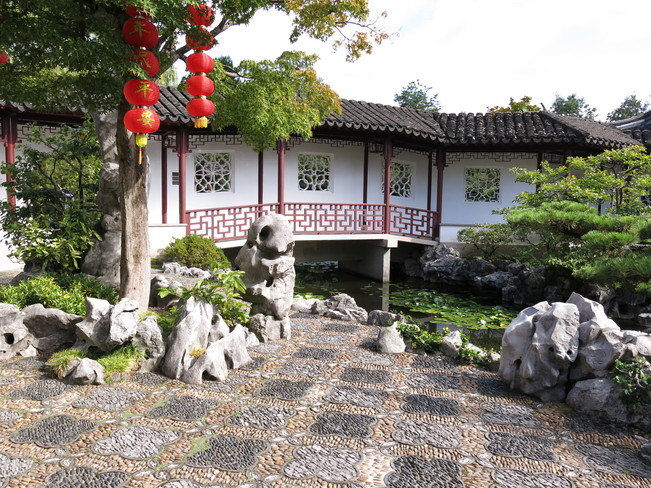 Chinese Garden Greater Vancouver, British Columbia Canada