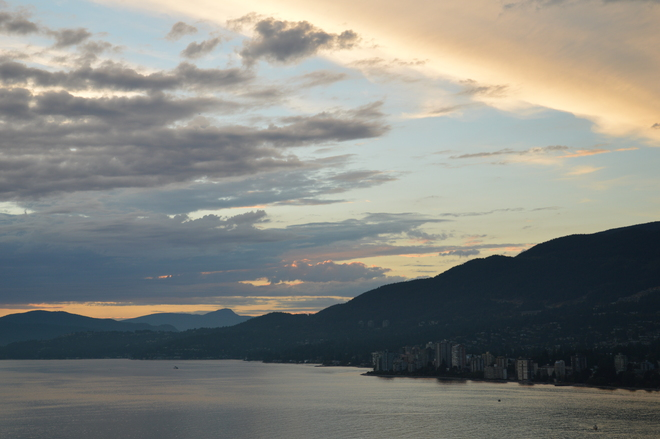 Sunset Sky Vancouver, British Columbia Canada