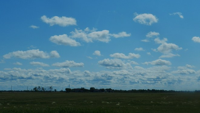 Lovely Clouds Winnipeg, Manitoba Canada