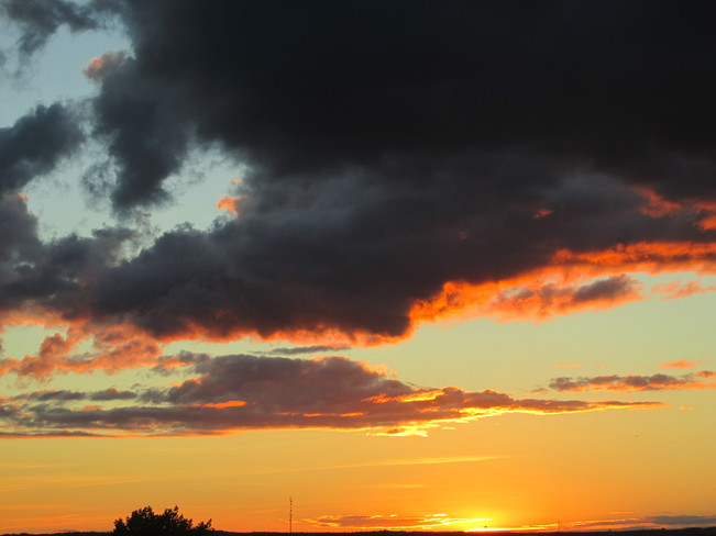 Tonight's Sunset Moncton, New Brunswick Canada