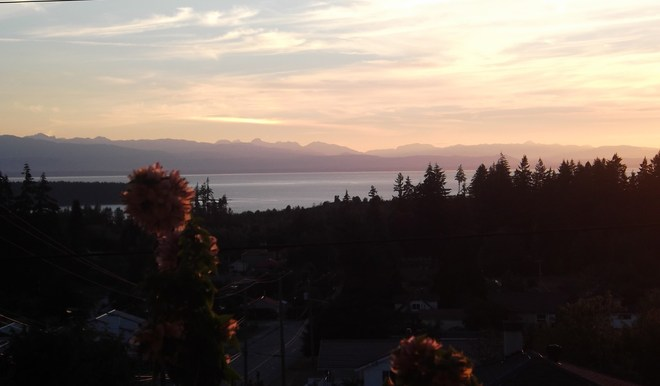 Gorgeous Sunset Powell River, British Columbia Canada