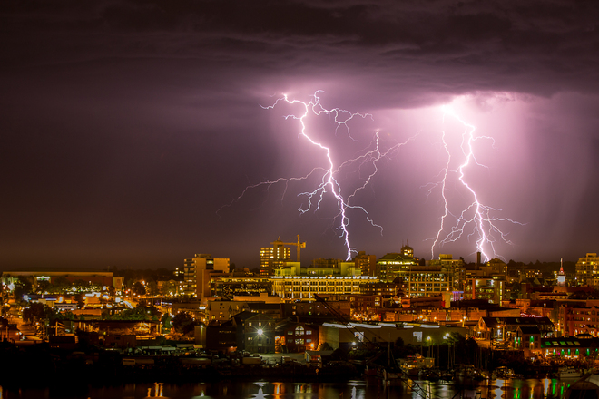 Lightening 2 Victoria, British Columbia Canada