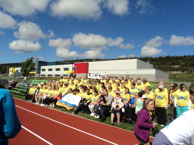 Relay for Life 2013 in Carbopnear Carbonear, Newfoundland and Labrador Canada