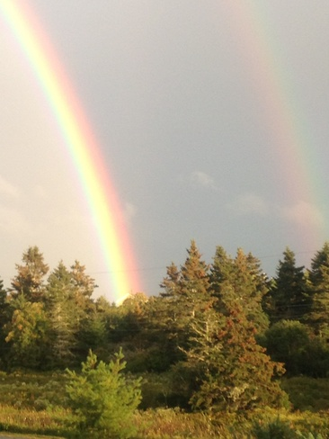Double Rainbow, Grand Desert Dartmouth, Nova Scotia Canada