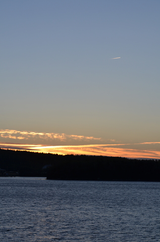 sunset on the patio Lewisporte, Newfoundland and Labrador Canada