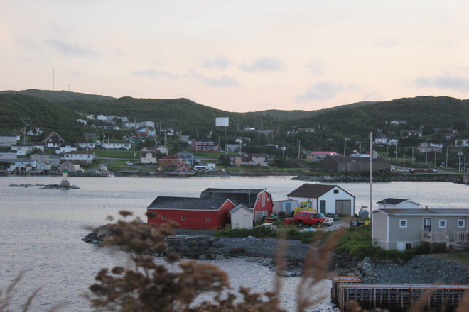 summer day St. Anthony, Newfoundland and Labrador Canada