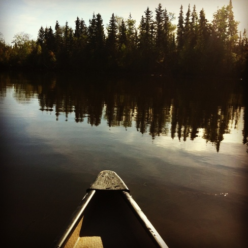 canoe ride Fort McMurray, Alberta Canada