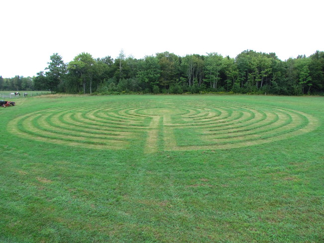 Energy Gathering Labyrinth