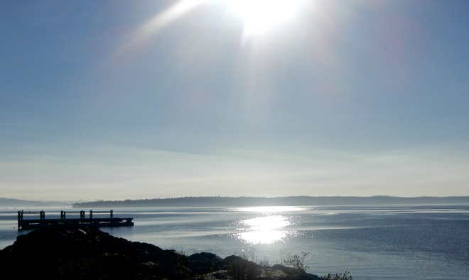 Perfect morning Sidney, British Columbia Canada