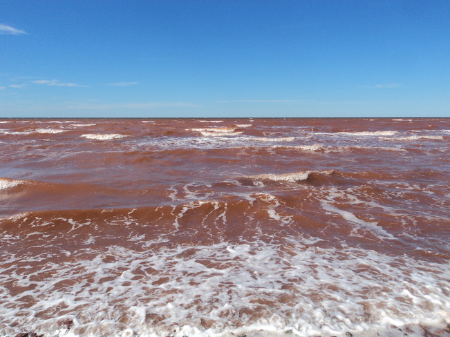 rough waters O'Leary, Prince Edward Island Canada