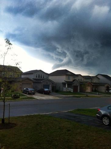 Funnel Clouds London, Ontario Canada