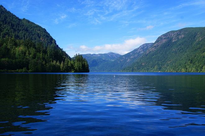 Lake View Port Alberni, British Columbia Canada