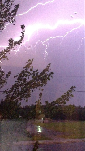 lightning Moncton, New Brunswick Canada