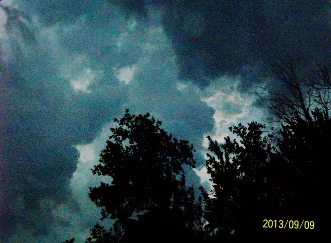 Tuesday Evening Storm
