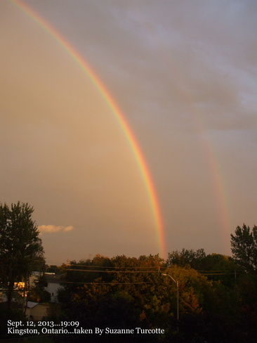 Rainbow, no rain Kingston, Ontario Canada