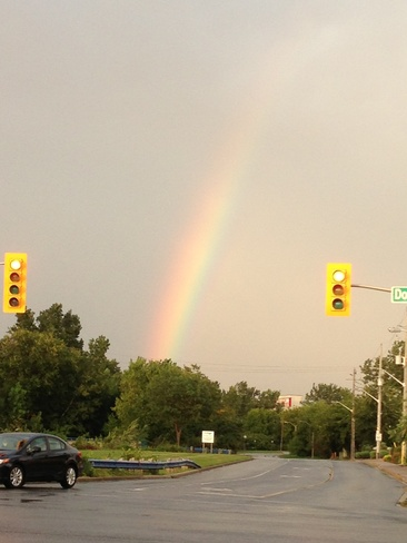 A little piece of the rainbow Windsor, Ontario Canada