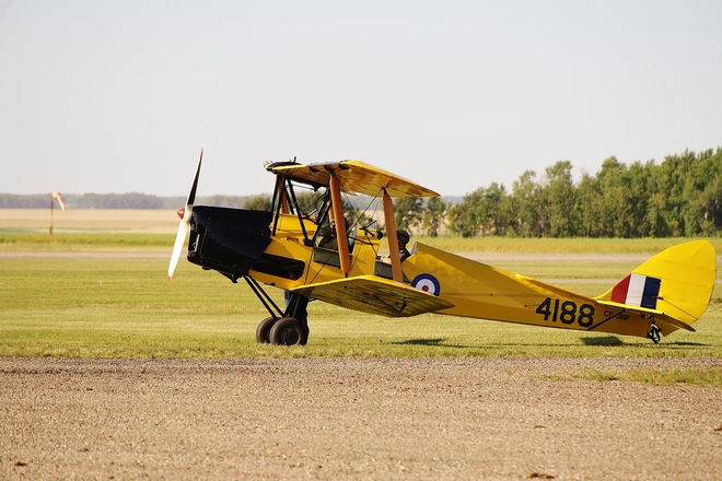 The Tiger Moth That Crash! Brandon, Manitoba Canada