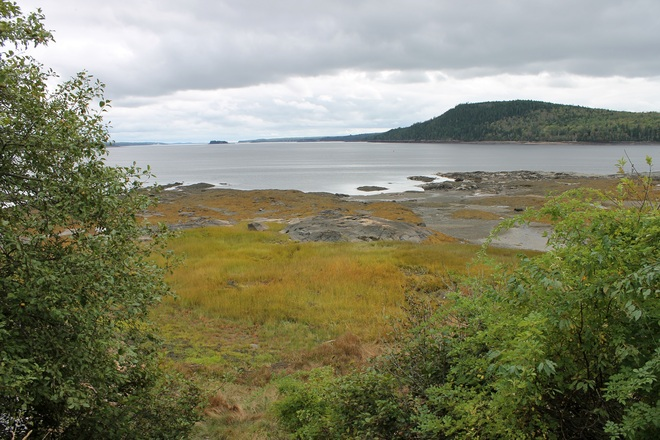 A Shot South From The Ganong Nature Park. St. Stephen, New Brunswick Canada