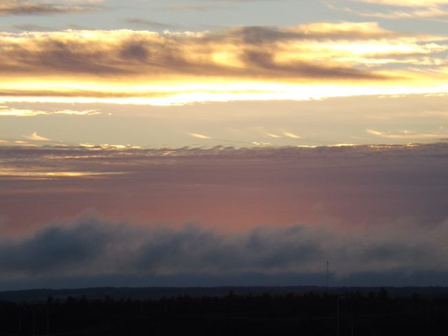 sunrise New Minas, Nova Scotia Canada