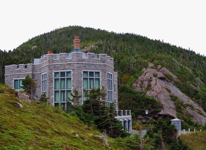 Logy Bay Castle, zoomed in. St. John's, Newfoundland and Labrador Canada