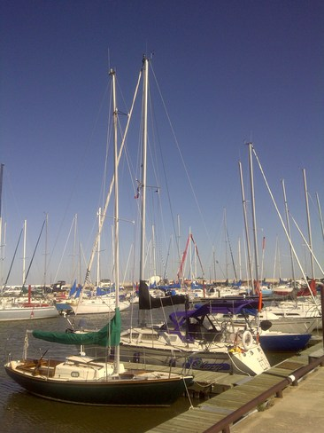 Time for a Sail! Gimli, Manitoba Canada