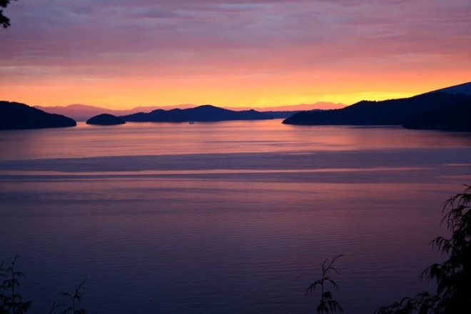 howe sound Lions Bay, British Columbia Canada