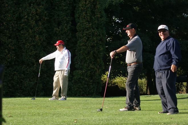 waiting on the first tee Niagara On The Lake, Ontario Canada