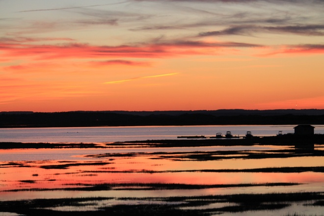 Sunset at Covehead Harbour Stanhope, Prince Edward Island Canada