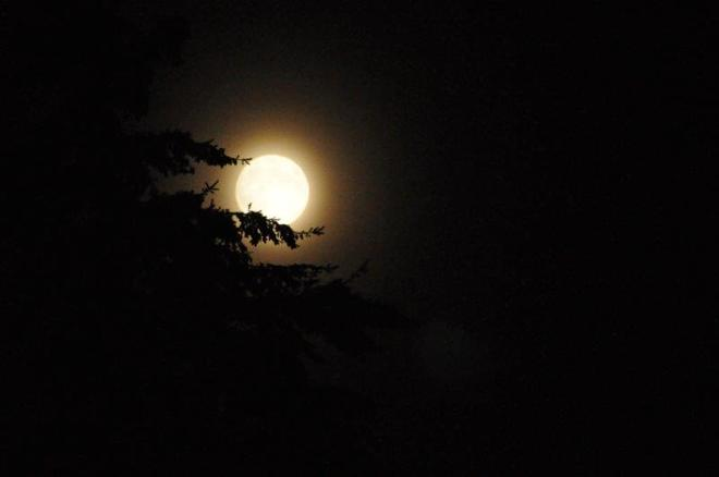 Full Moon in September Seattle, Washington United States