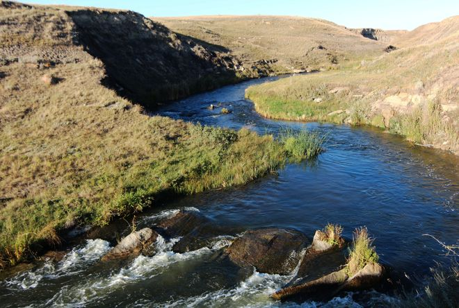 12 mile coulee creek Brooks, Alberta Canada