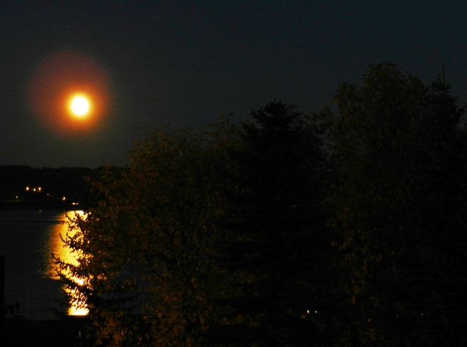 Moonlight Fort Qu'Appelle, Saskatchewan Canada