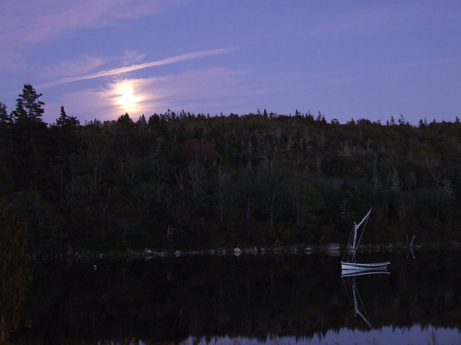 Moonrise over Terence Bay,NS Terence Bay, Nova Scotia Canada