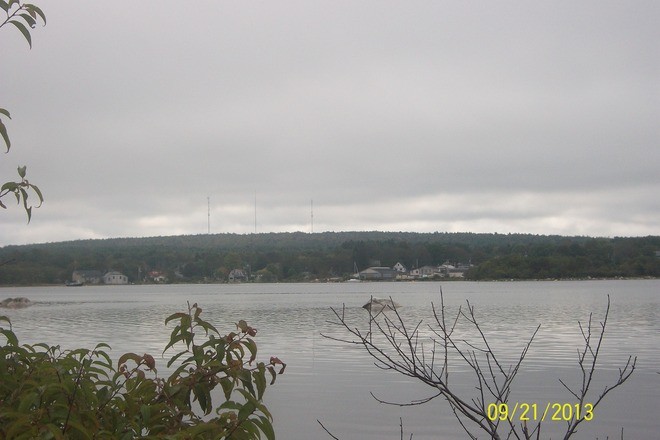 North end view from Island's Park Shelburne, Nova Scotia Canada