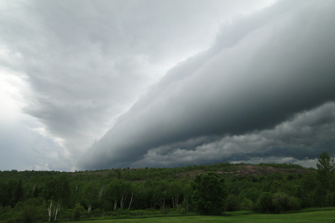 Shelf Cloud Sudbury, Ontario Canada