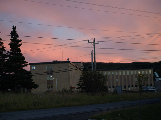 Red Sky @ Night St. Anthony, Newfoundland and Labrador Canada