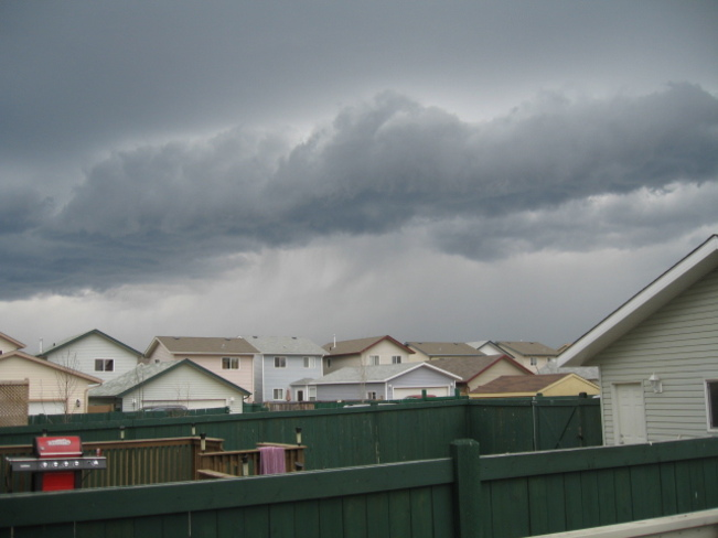 Angry Clouds Fort McMurray, Alberta Canada