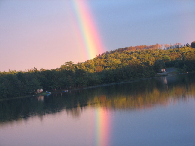 Twin Rainbows Goshen, Nova Scotia Canada