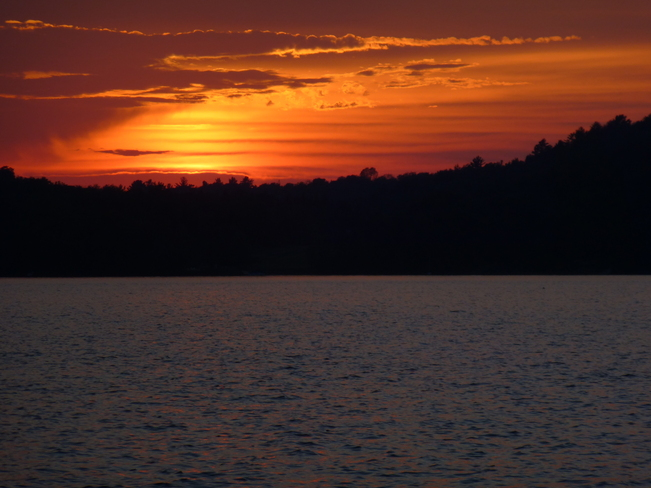Sunset Mary Lake Muskoka, Ontario Canada