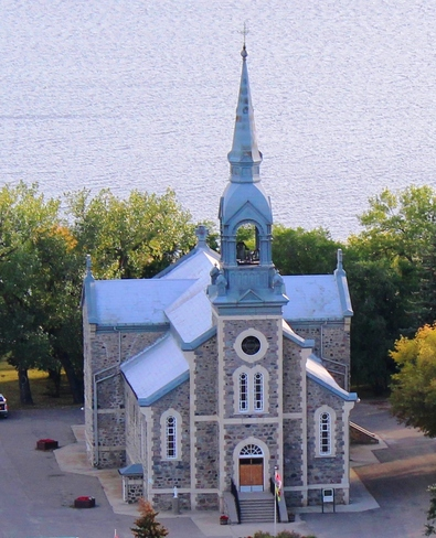 Beautiful church in Lebret Regina, Saskatchewan Canada