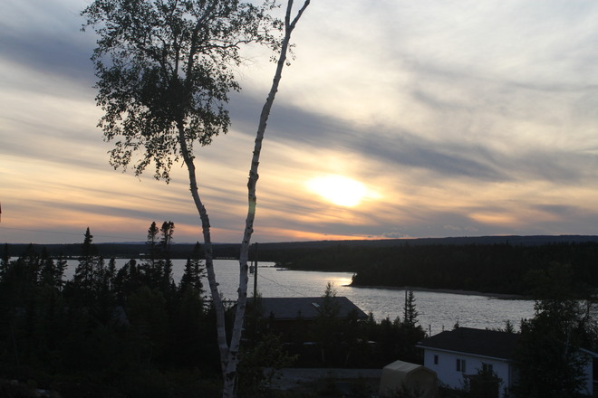 Kelly's Point sunset Howley, Newfoundland and Labrador Canada