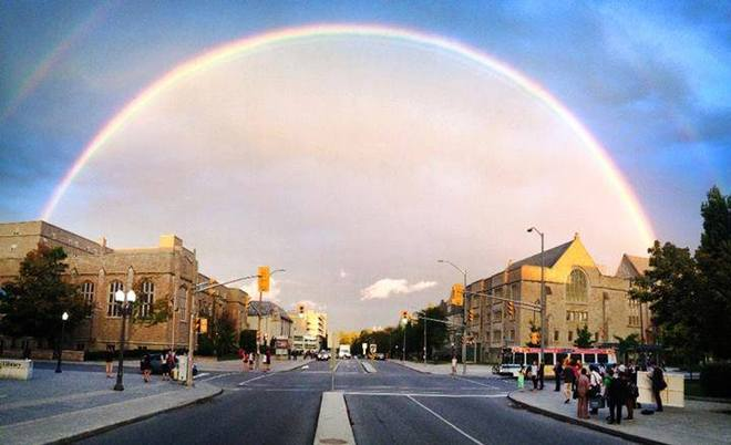 Double Rainbow Kingston, Ontario Canada